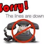 phones down 1